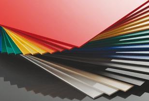 Plaque forex de couleur